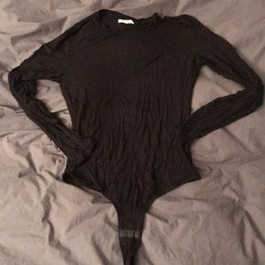 Madewell crewneck thong bodysuit x large